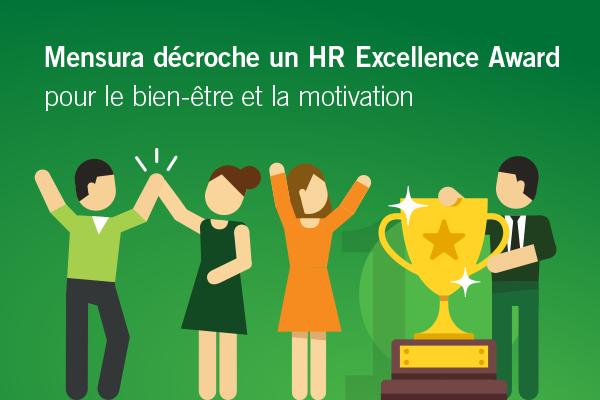 Mensura décroche un HR Excellence Award